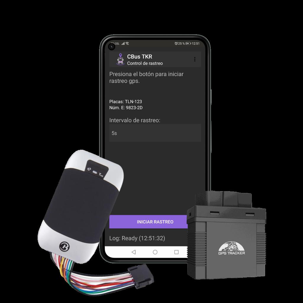 Aplicación en android de rastreo de unidades - CBus TKR